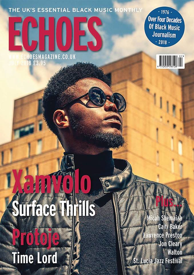 XamVolo Cover Shoot for Echoes Magazine